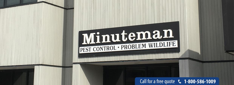 Minuteman Pest Control Header